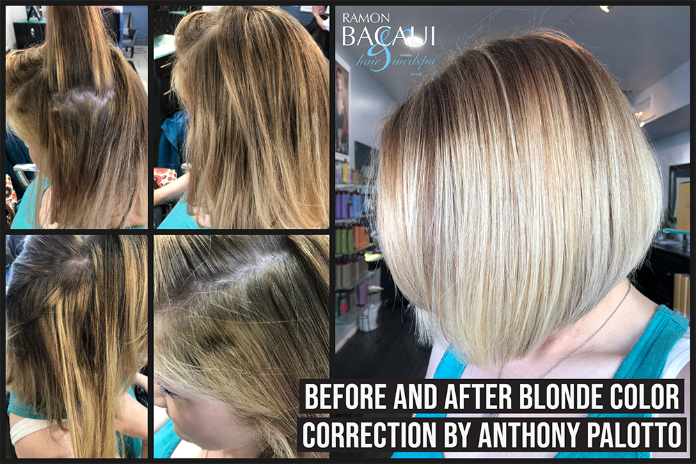 blonde color repair
