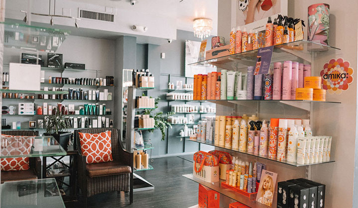 Salon hair care products old town scottsdale